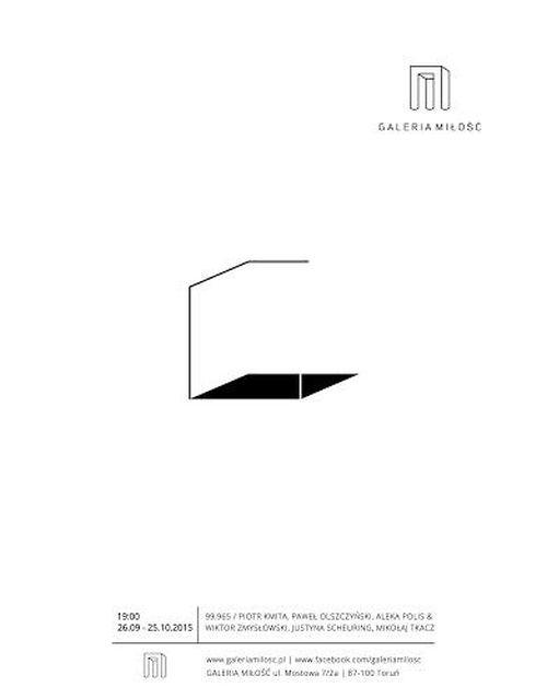 """""""99,965"""" – plakat wystawy (źródło: materiały prasowe)"""