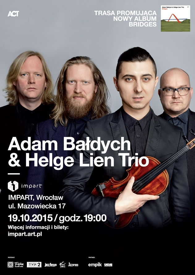 Adam Bałdych & Helge Lien Trio (źródło: materiały prasowe)