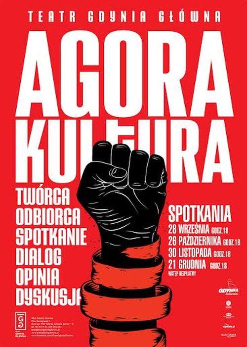 """Agora Kultura"" – plakat (źródło: materiały prasowe)"