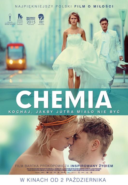 """""""Chemia"""", reż. Bartek Prokopowicz – plakat (źródło: materiały prasowe)"""