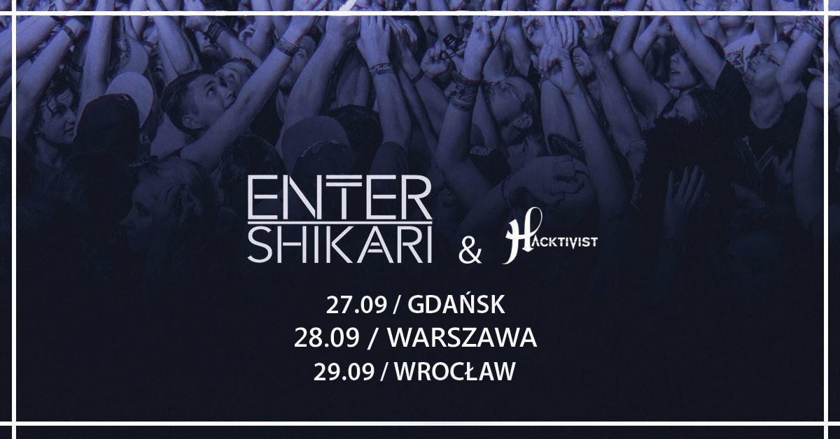 Enter Shikari & Hacktivist (źródło: materiały prasowe)
