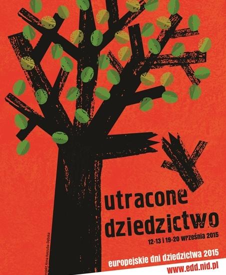 Europejskie Dni Dziedzictwa na Podkarpaciu – plakat (źródło: materiały prasowe)