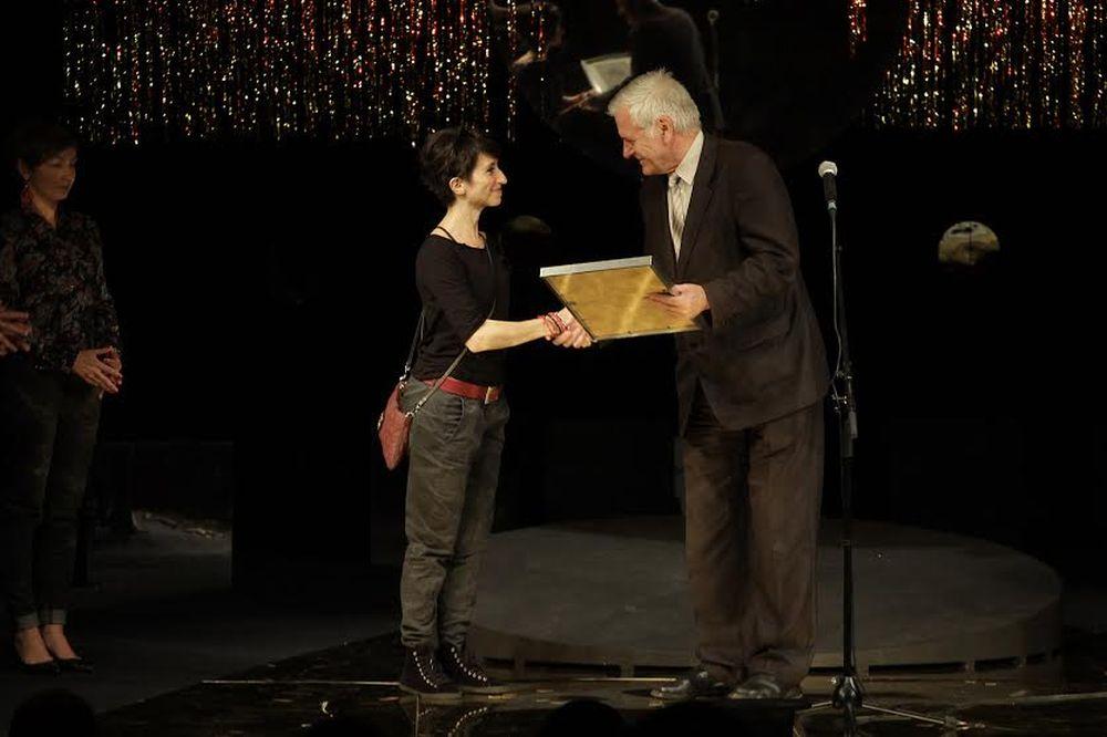 Nagroda dla Marty Guśniowskiej na II Festiwalu małych Prapremier (źródło: materiały prasowe)