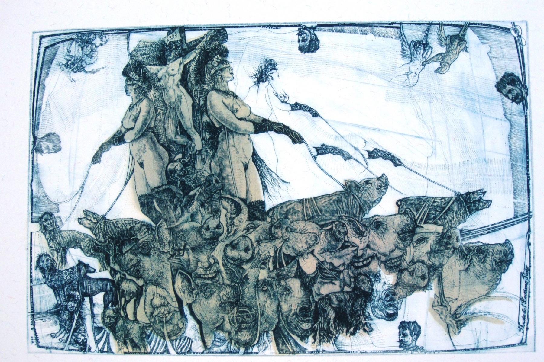 """Pavel Hlavatý, """"Obrazy snów i rzeczywistości"""" (źródło: materiały prasowe organizatora)"""
