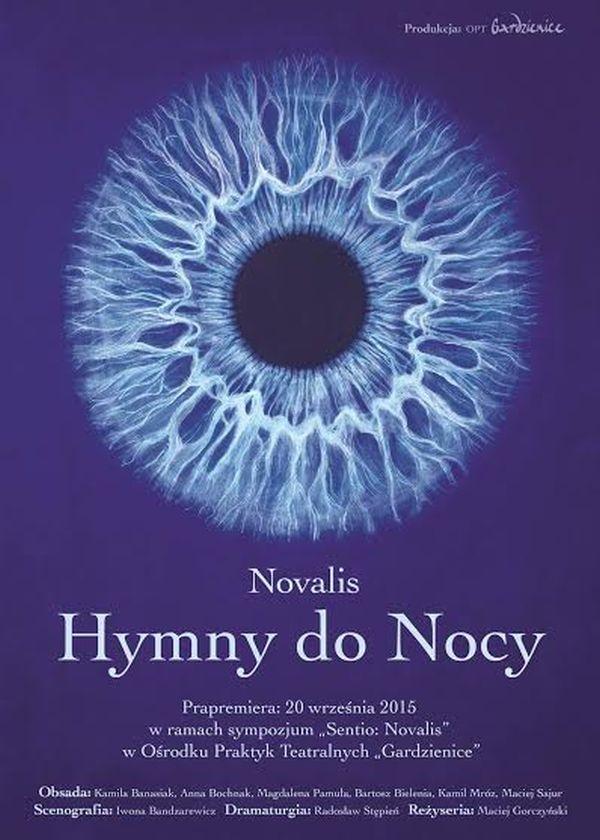 """""""Hymny do Nocy"""" – plakat Iwony Bandzarewicz (źródło: materiały prasowe)"""