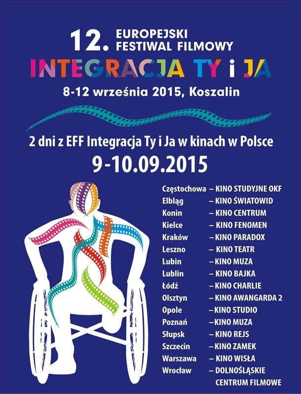 12. Europejski Festiwal Filmowy Integracja Ty i Ja – plakat (źródło: materiały prasowe)