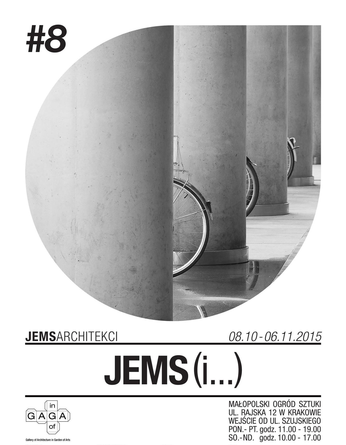 """""""JEMS (i...)"""", plakat (źródło: materiały prasowe organizatora)"""