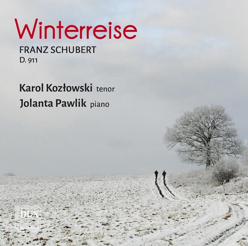 """""""Winterreise"""", Karol Kozłowski i Jolanta Pawlik (źródło: materiały prasowe)"""