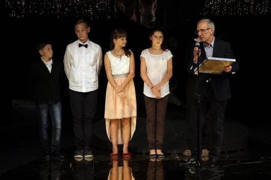 Jury dziecięce II Festiwalu małych Prapremier (źródło: materiały prasowe)