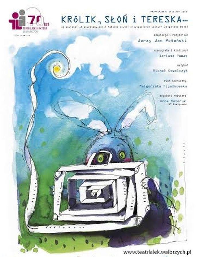 """Królik, Słoń i Tereska"" – plakat (źródło: materiały prasowe)"