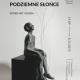 """Lech Majewski, wystawa """"Podziemne słońce. Wideo-art. Rzeźba"""", plakat (źródło: materiały prasowe organizatora)"""