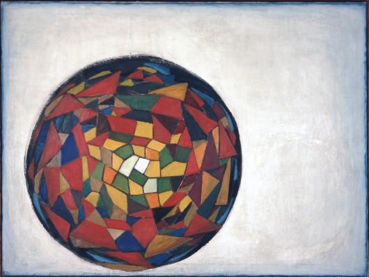 """Andrzej Wróblewski, """"Ziemia"""", 1948 (źródło: materiały prasowe organizatora)"""