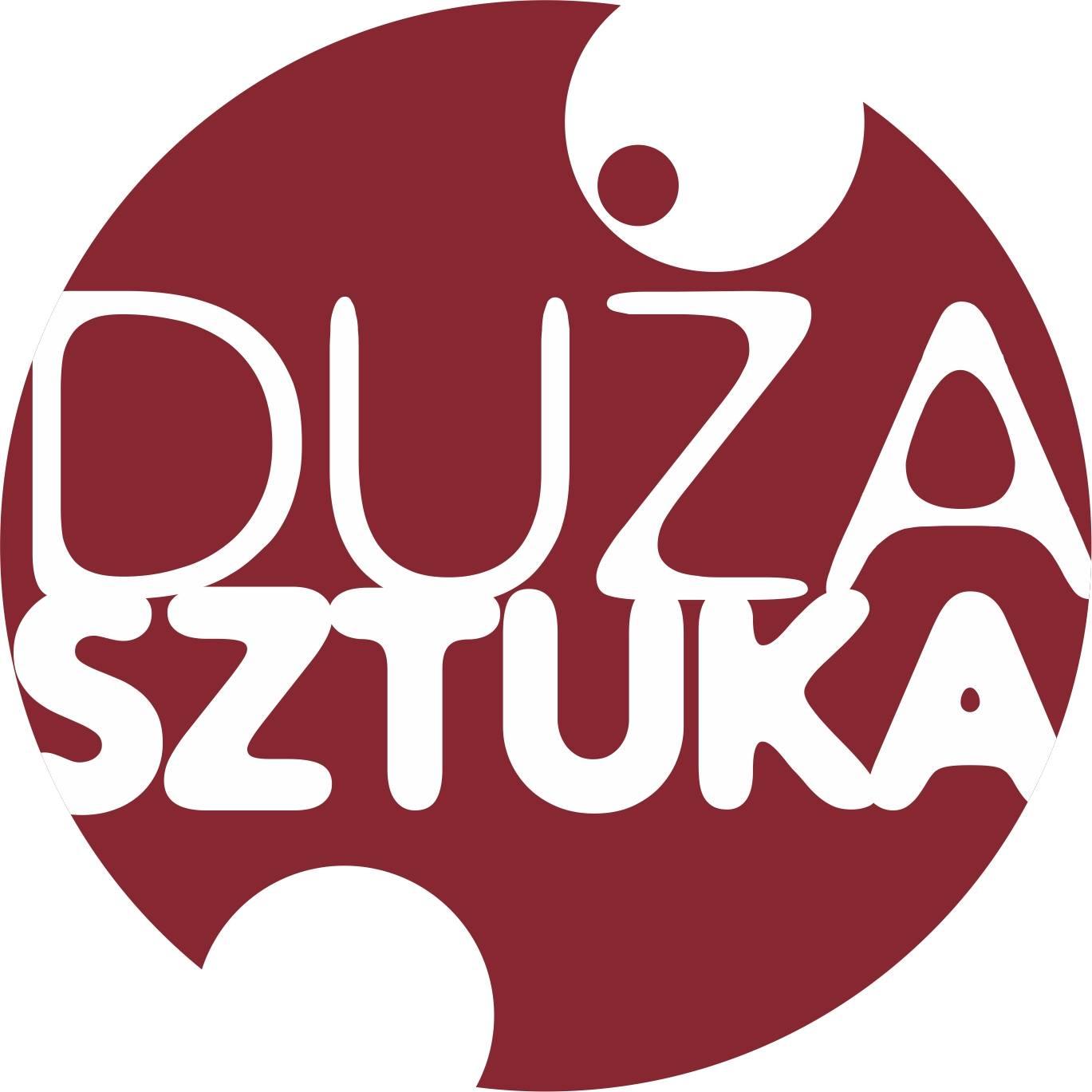 """Projekt """"Duża sztuka"""", logo (źródło: materiały prasowe organizatora)"""