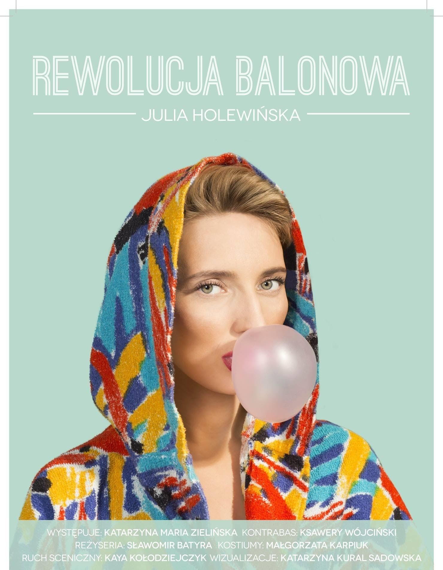 """""""Rewolucja balonowa"""" – plakat (źródło: materiały prasowe)"""