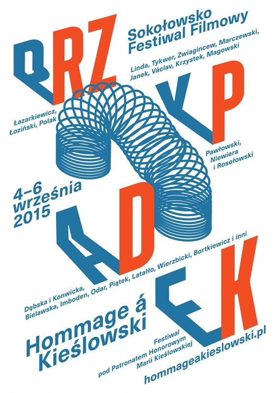 5. Sokołowsko Festiwal Filmowy Hommage à Kieślowski – plakat (źródło: materiały prasowe)