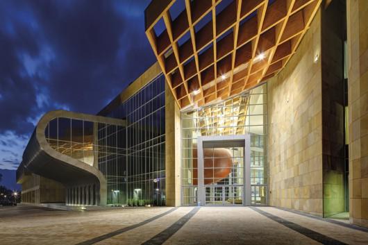 Uniwersyteckie Centrum Innowacji Transferu Wiedzy Techniczno Przyrodniczej, Rzeszów 2012, proj. Studio EL (źródło: materiały prasowe organizatora)