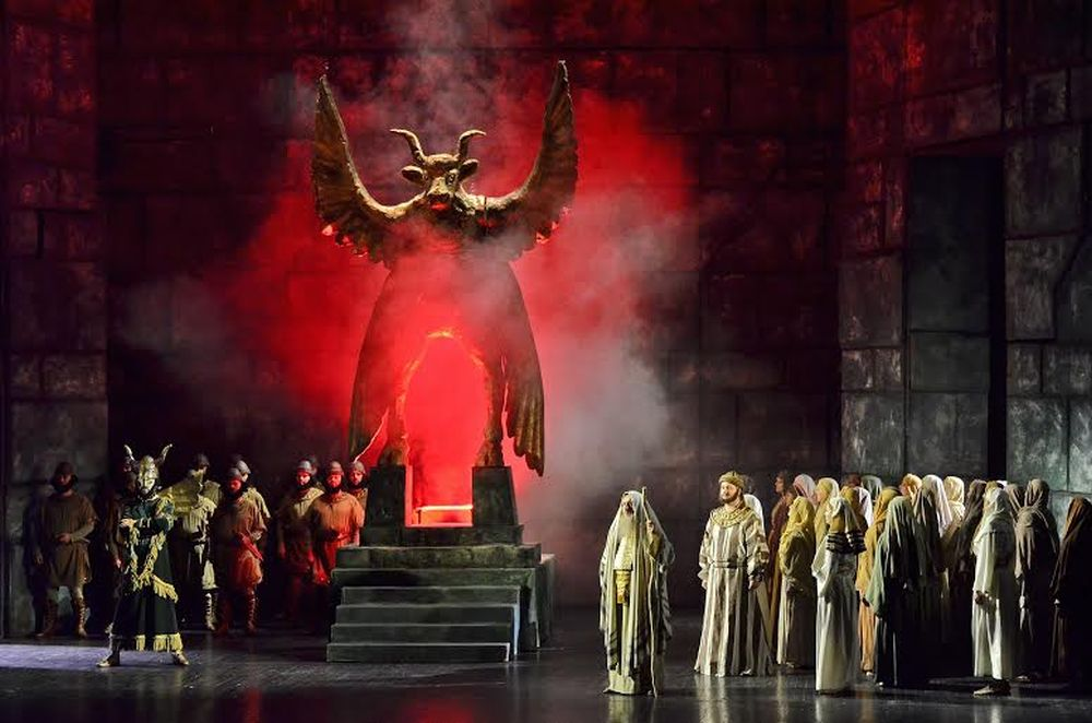 """""""Nabucco"""", fot. Marek Chełminiak (źródło: materiały prasowe)"""
