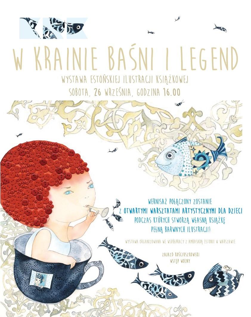 """""""W krainie baśni i legend"""" – plakat (źródło: materiały prasowe organizatora)"""