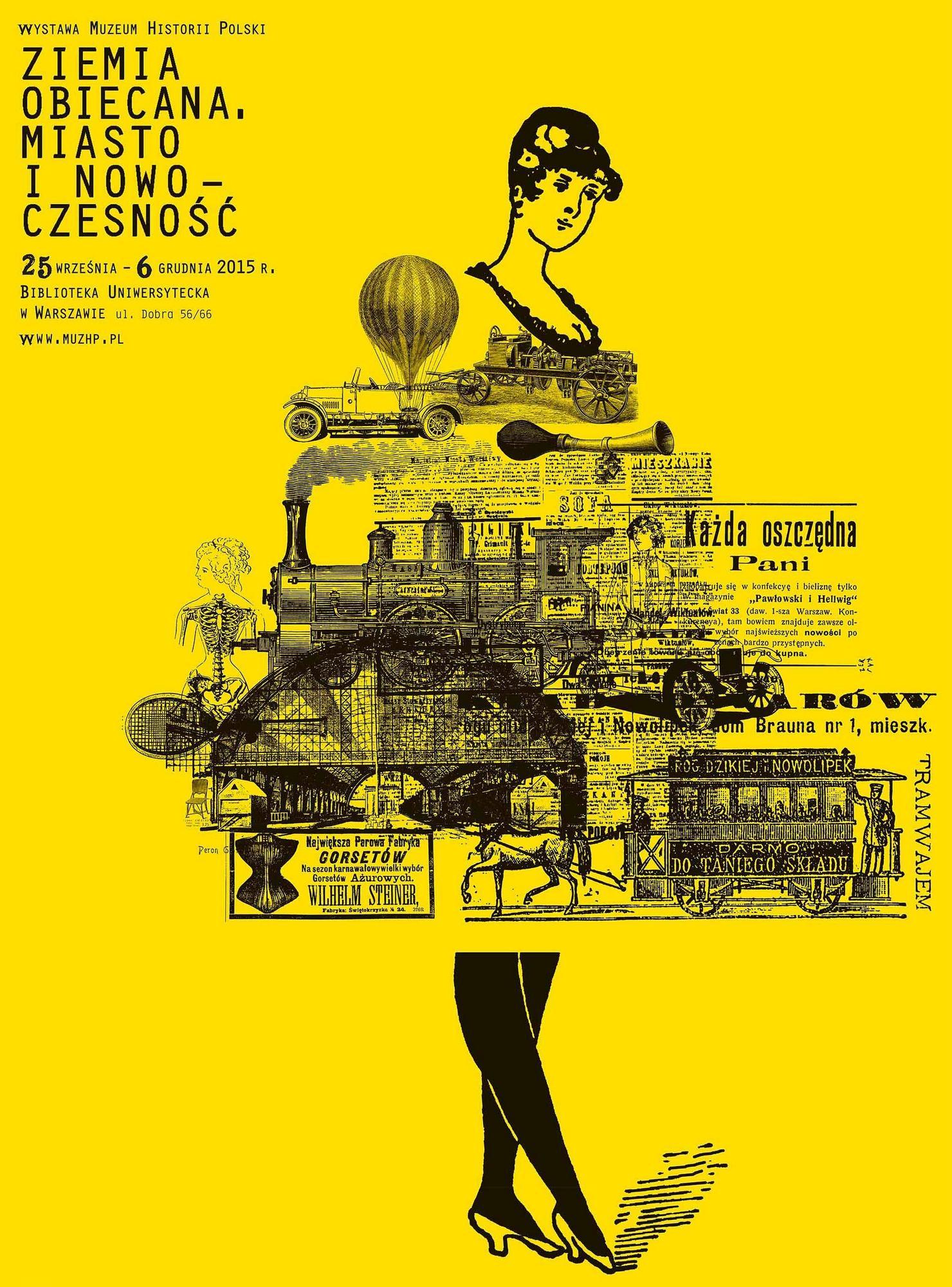 """""""Ziemia obiecana. Miasto i nowoczesność"""" – plakat (źródło: materiały prasowe organizatora)"""