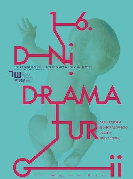 16. Dni Dramaturgii – plakat, proj. Mirek Kaczmarek (źródło: materiały prasowe)