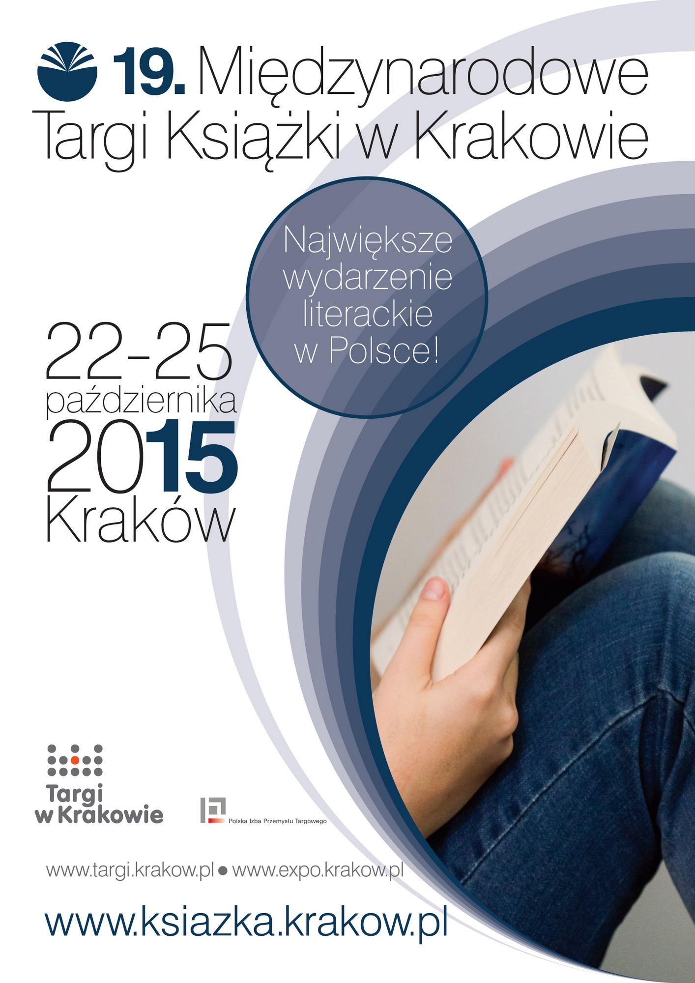 19. Targi Książki w Krakowie – plakat (źródło: materiały prasowe organizatora)