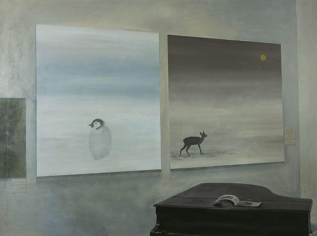 """Jerzy Kosałka, """"Fortepian"""" z cyklu """"Bardzo dobre obrazy"""", 2009 (źródło: materiały prasowe organizatora)"""