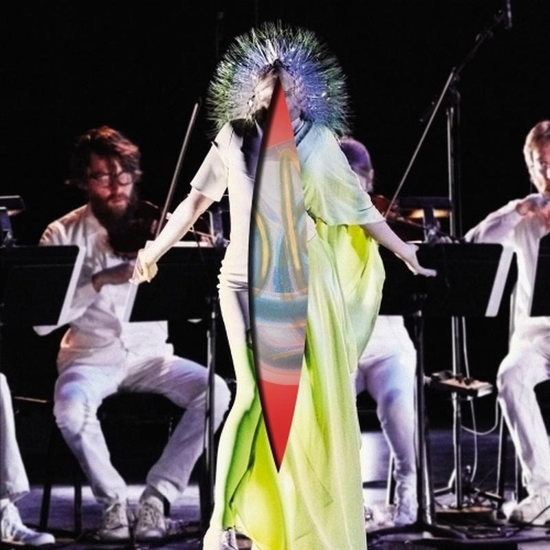 """Björk, """"Vulnicura Strings"""" – okładka (źródło: materiały prasowe wydawcy)"""