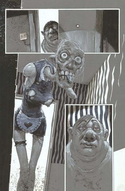"""Daniel Grzeszkiewicz, praca z wystawy """"Creepypasta"""" (źródło: materiały prasowe organizatora)"""