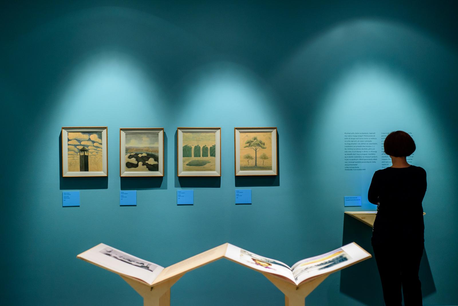 """Wystawa """"M.K. Čiurlionis. Litewska opowieść"""", fot. Schubert (źródło: materiały prasowe organizatora)"""