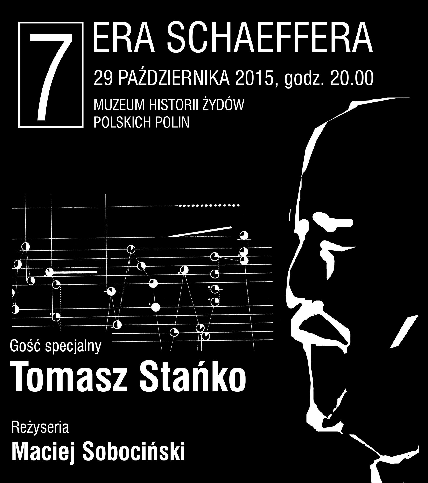 Festiwal Era Schaeffera – plakat (źródło: materiały prasowe)