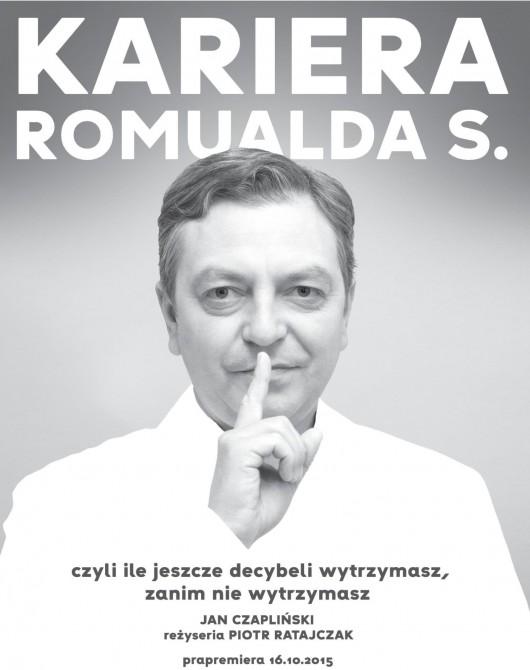 """""""Kariera Romualda S."""" – plakat (źródło: materiały prasowe)"""