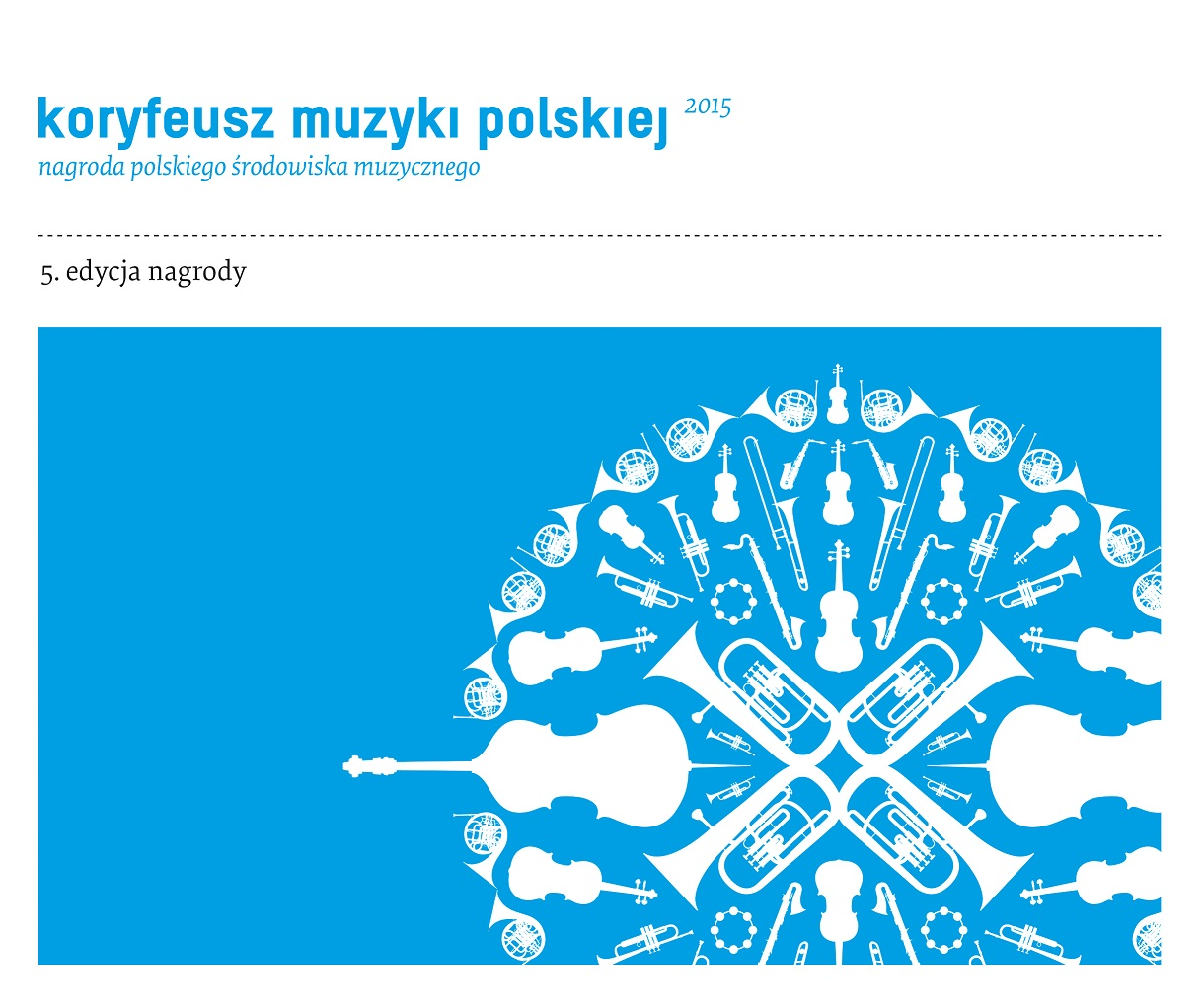 Koryfeusz Muzyki Polskiej – plakat (źródło: materiały prasowe)