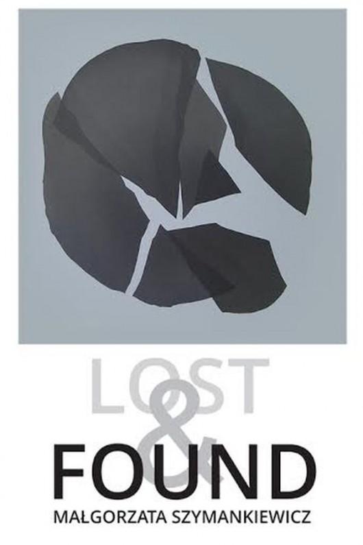 """""""Lost and found"""" – plakat wystawy (źródło: materiały prasowe)"""