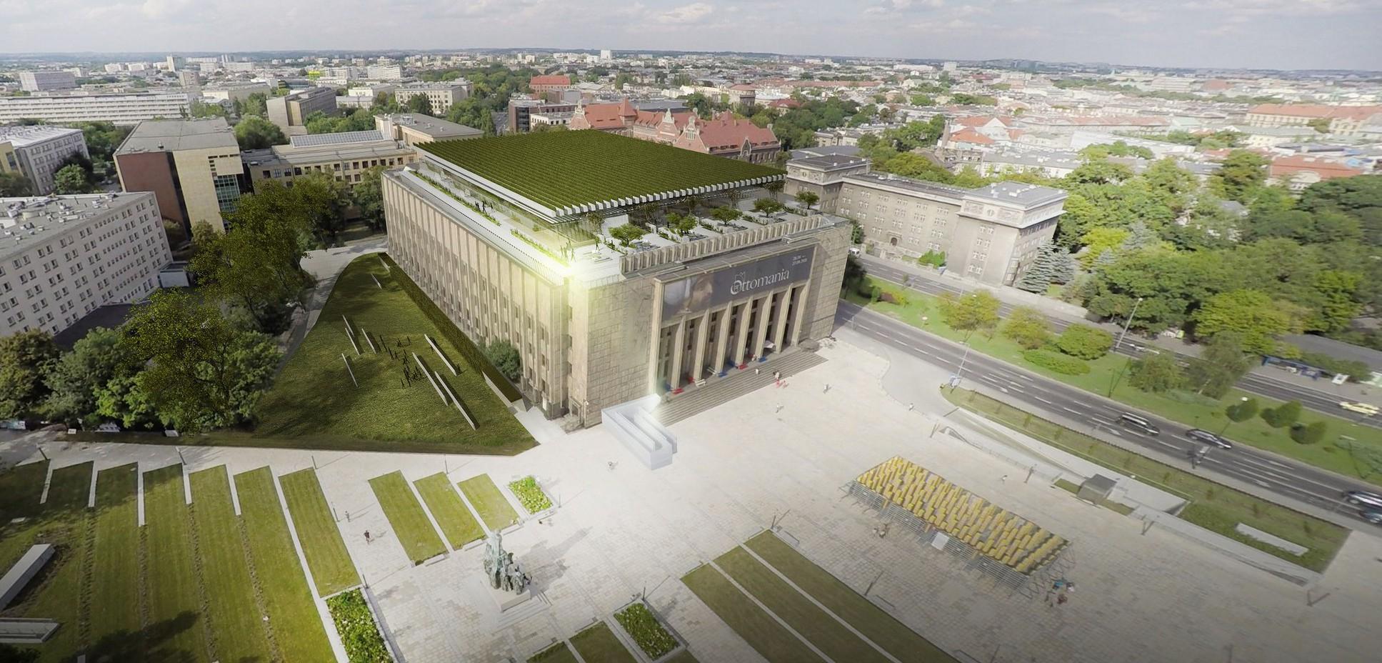 Przebudowa MNK, proj. Stelmach i Partnerzy Biuro Architektoniczne Sp. z o.o. (źródło: materiały prasowe)