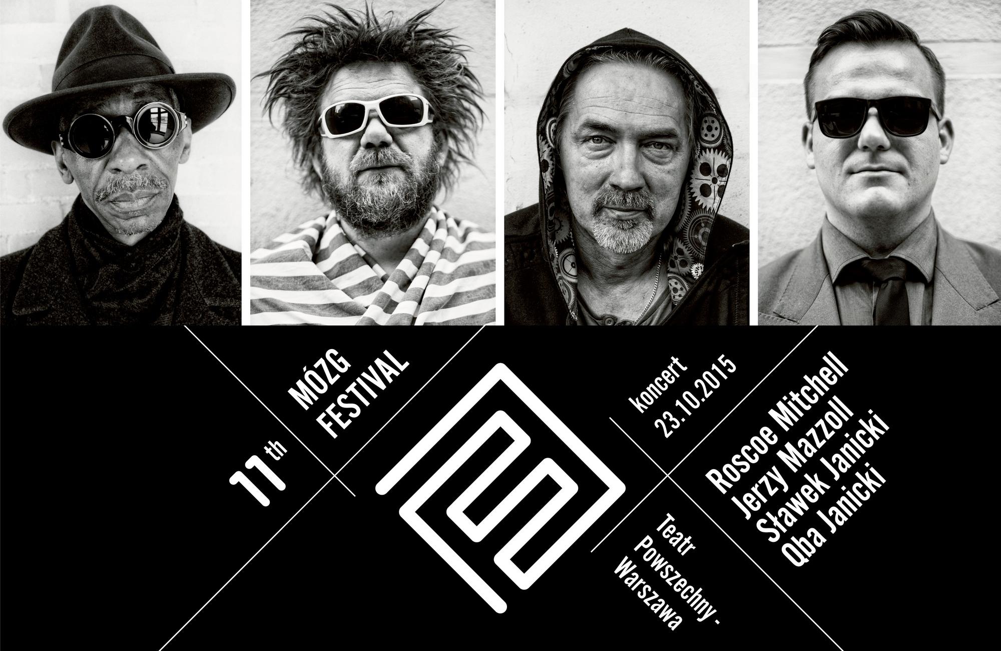 Koncert Roscoe Mitchell / Jerzy Mazzoll / Sławek Janicki / Qba Janicki (źródło: materiały prasowe organizatora)