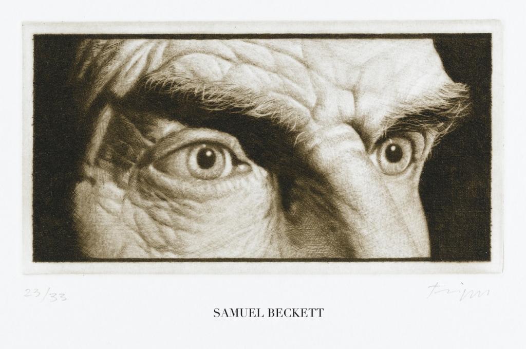 """""""Nieopowiedziane"""" , W.G. Sebald, Jan Peter Tripp – oczy Samuela Becketta (źródło: materiały prasowe)"""