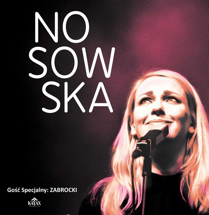 NOSOWSKA, Zabrocki – plakat (źródło: materiały prasowe)