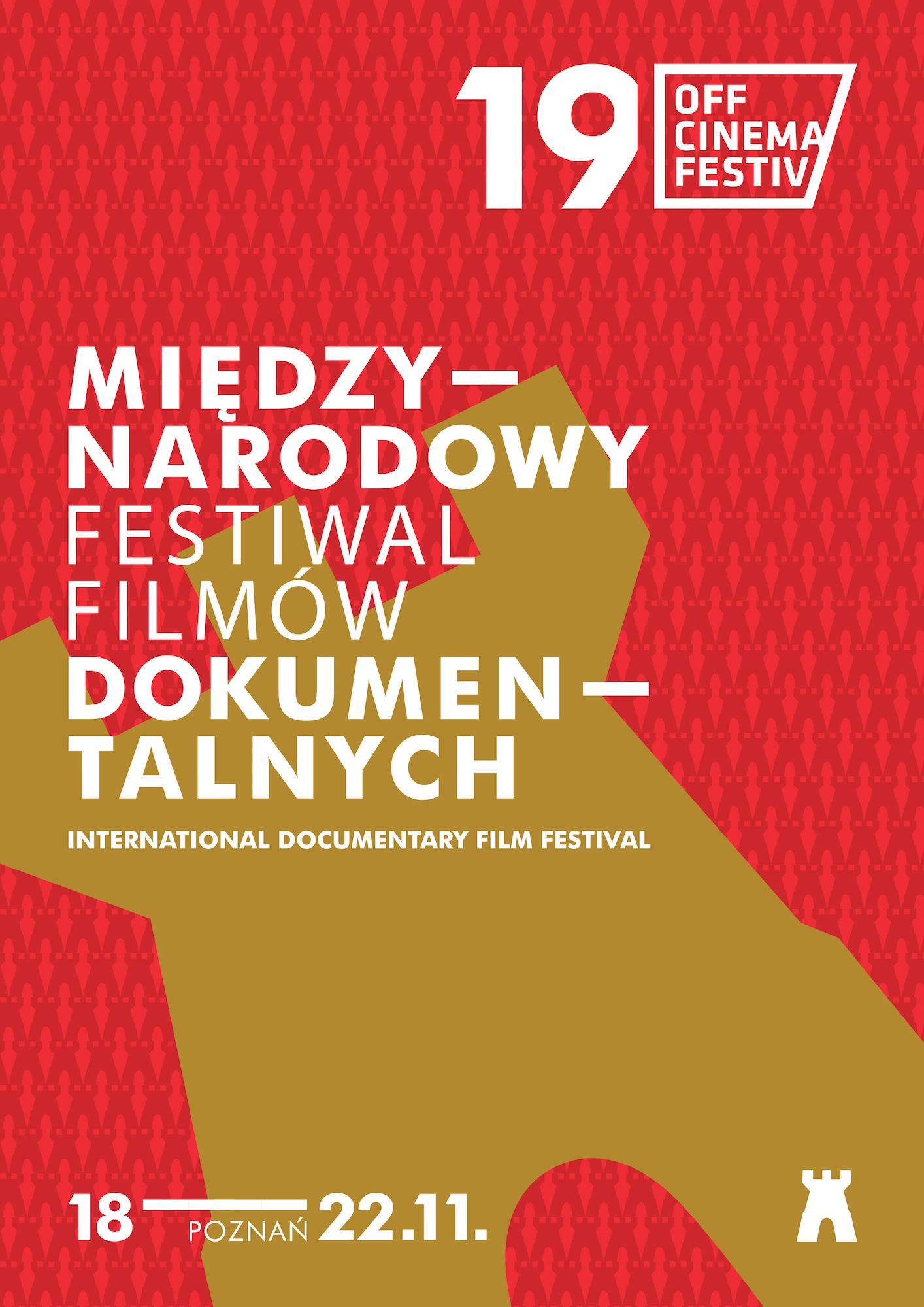 19. Międzynarodowy Festiwal Filmów Dokumentalnych OFF CINEMA, plakat (źródło: materiały prasowe organizatora)