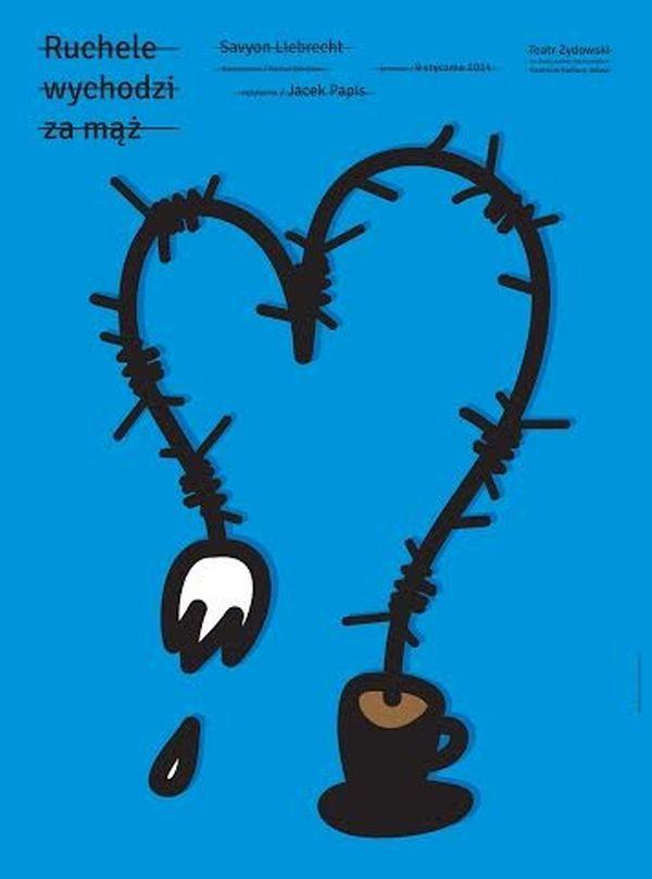 """""""Ruchele wychodzi za mąż"""" – plakat (źródło: materiały prasowe)"""