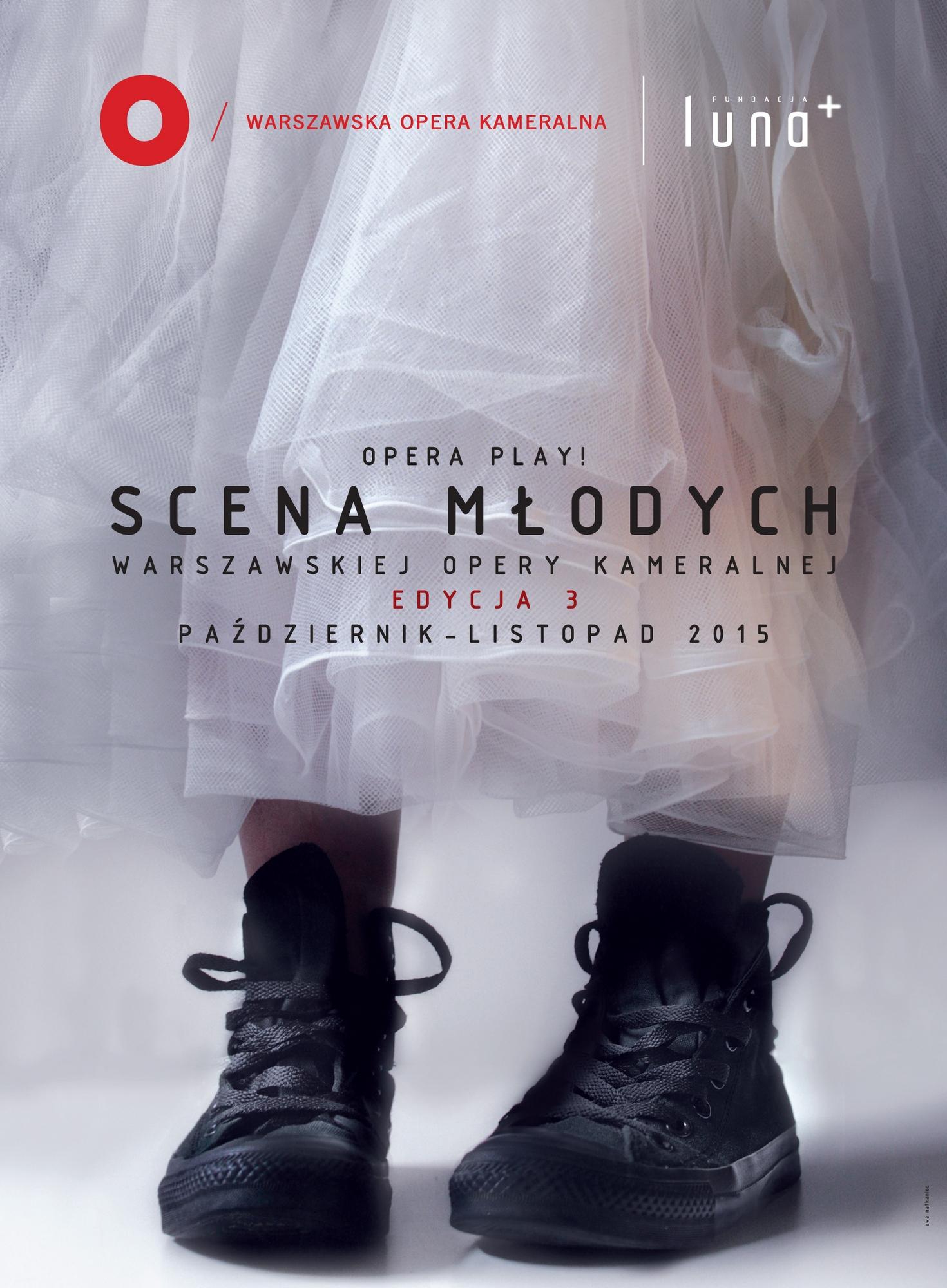 3. Scena Młodych – plakat (źródło: materiały prasowe organizatora)