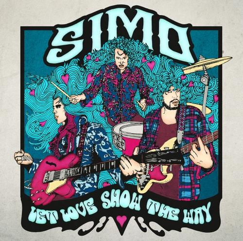 """Simo, """"Let Love Show the Way"""" – okładka płyty (źródło: materiały prasowe wydawcy)"""