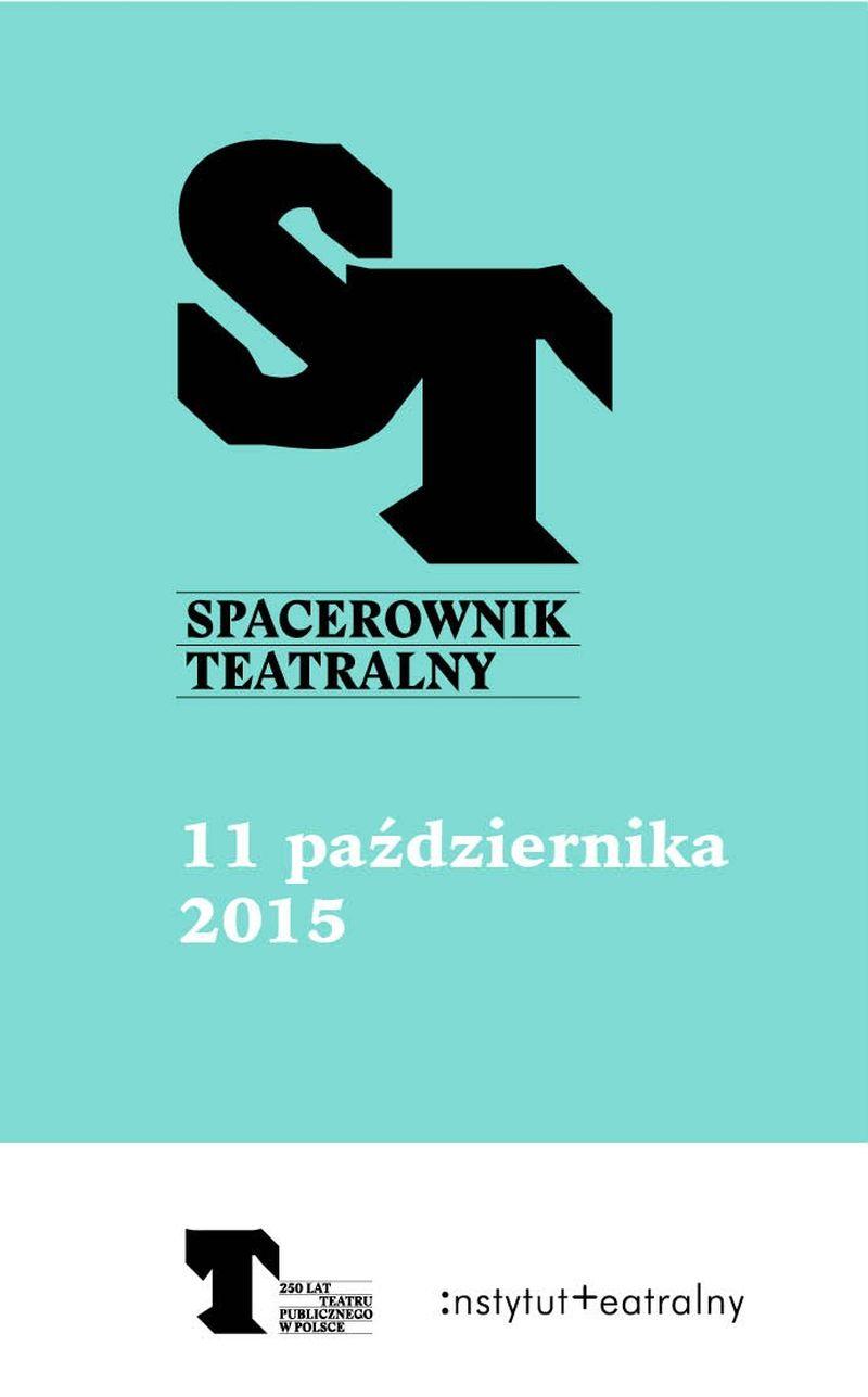 Spacerownik Teatralny (źródło: materiały prasowe)