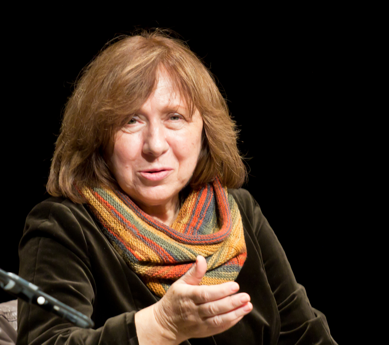 Swietłana Aleksijewicz, fot. Elke Wetzig (źródło: Wikimedia Commons)