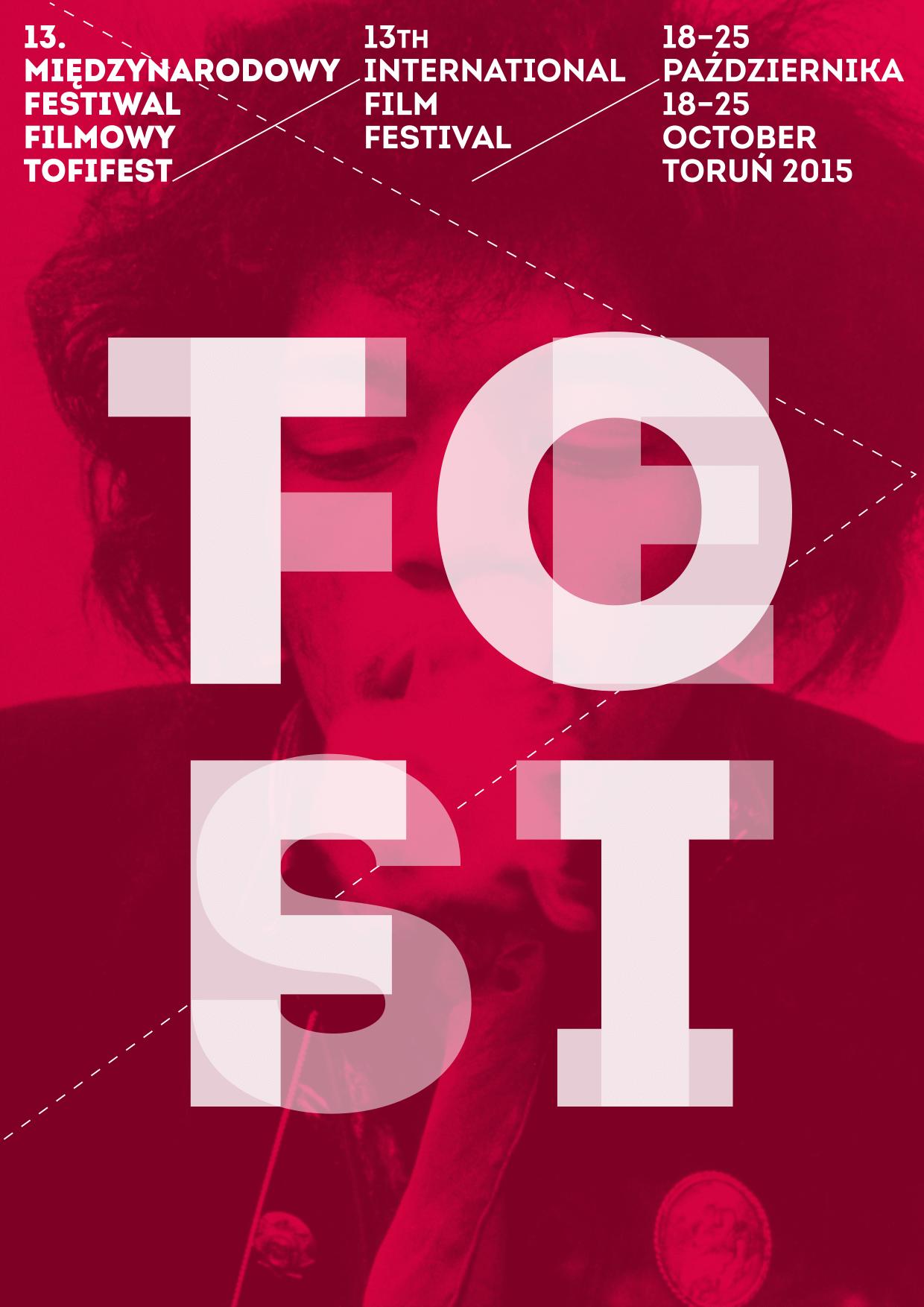 13. Międzynarodowy Festiwal Filmowy Tofifest – plakat (źródło: materiały prasowe organizatora)