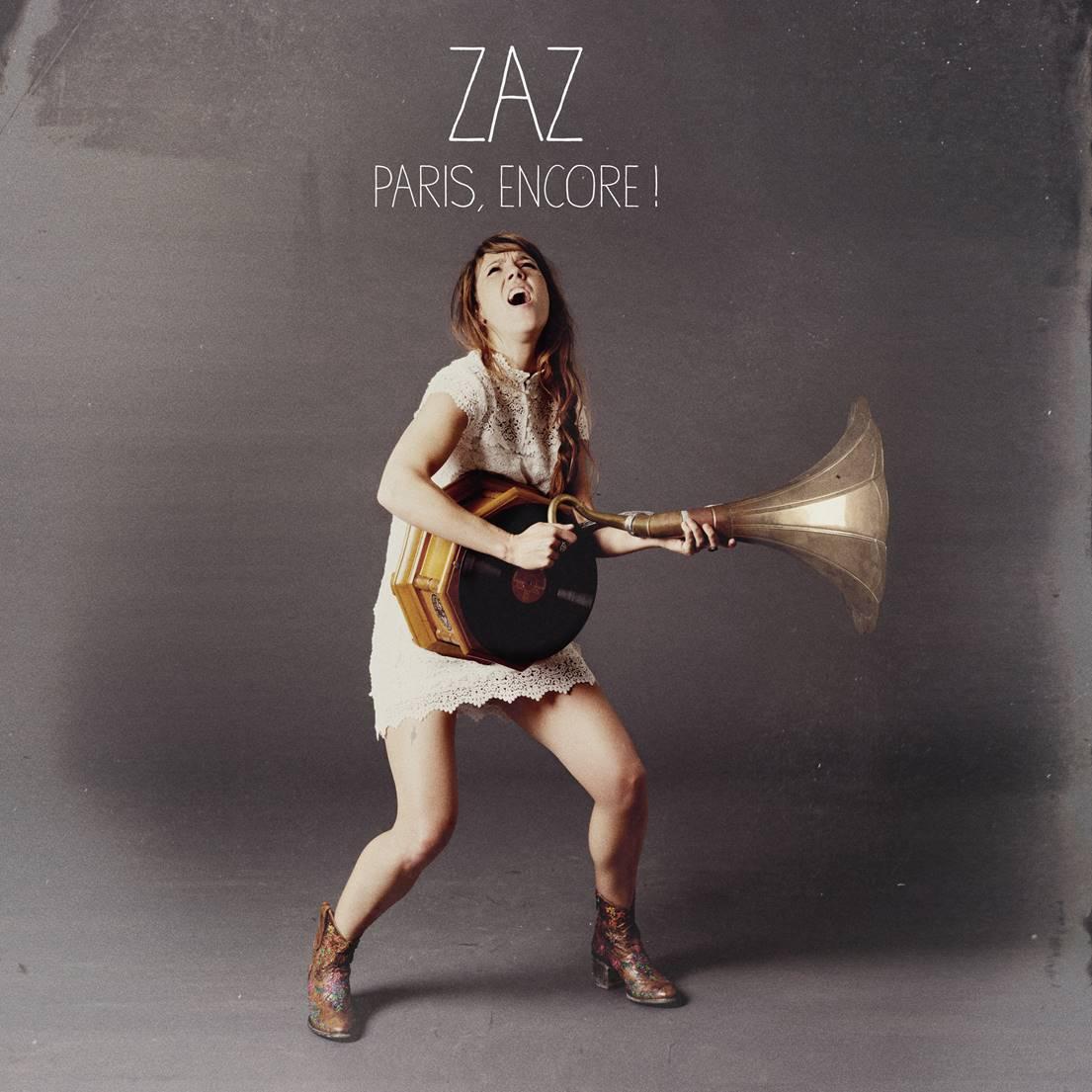 """Zaz, """"Paris, encore!"""" – okładka płyty (źródło: materiały prasowe)"""