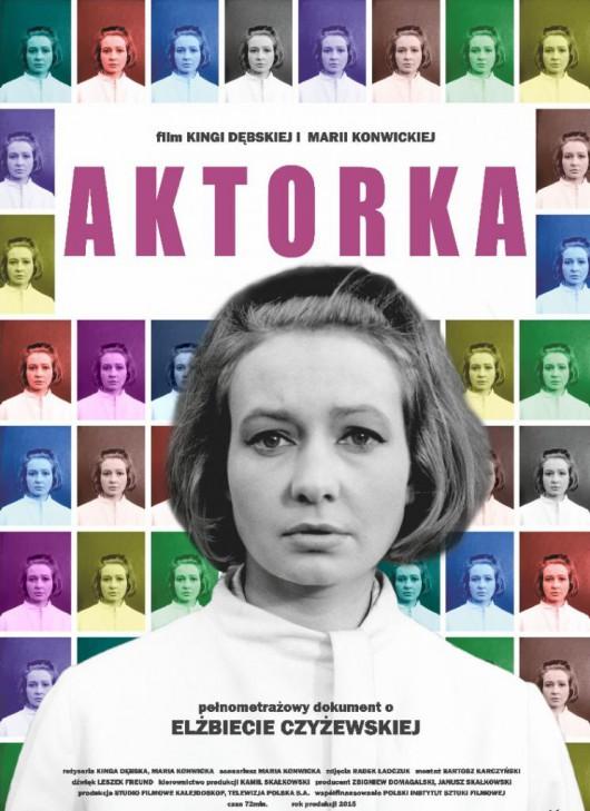 """Aktorka"", reż. Kinga Dębska, Maria Konwicka, plakat (źródło: materiały dystrybutora)"