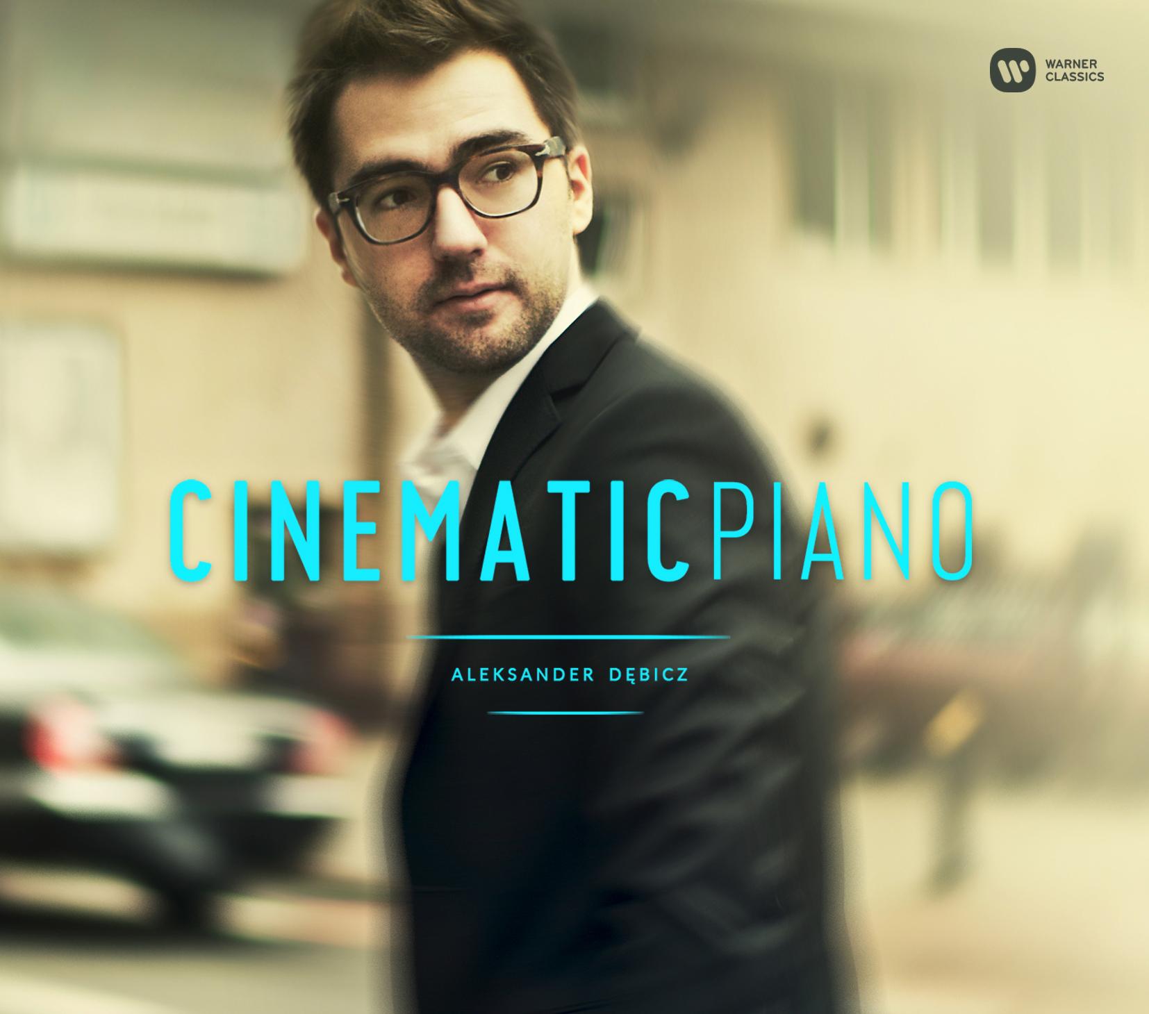 """Aleksander Dębicz, """"Cinematic Piano"""" – okładka płyty (źródło: materiały prasowe wydawcy)"""