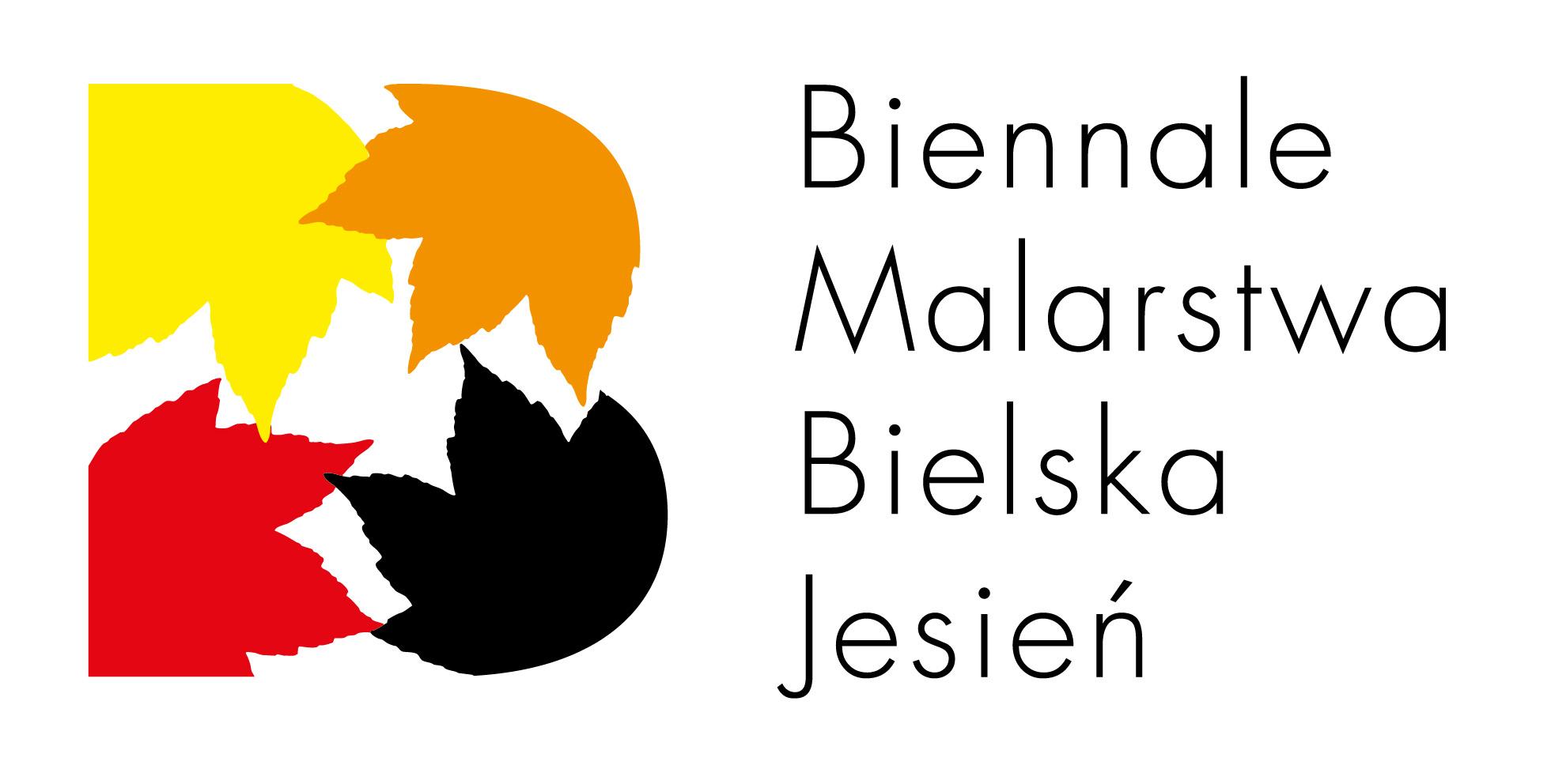 """42. Biennale Malarstwa """"Bielska Jesień 2015"""", logotyp (źródło: materiały prasowe organizatora)"""