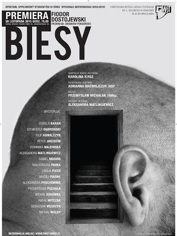 """""""Biesy"""", reż. Karolina Kirsz – plakat (źródło: materiały prasowe)"""