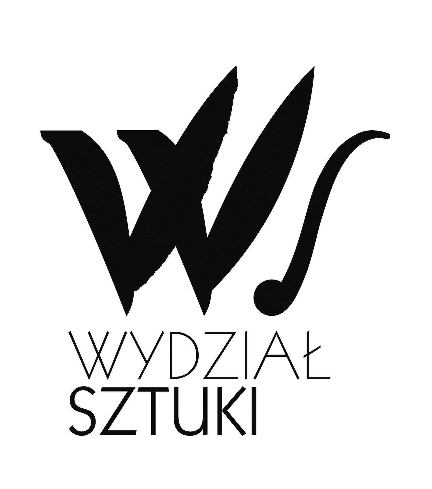Wydział Sztuki Uniwersytetu Warmińsko-Mazurskiego w Olsztynie, logotyp (źródło: materiały prasowe organizatora)